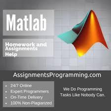 Do my MATLAB Assignment online