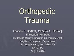 Orthopaedic Trauma Assignment Help Online
