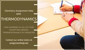 Thermodynamics Assignment Help online