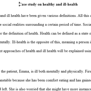 approaches to health