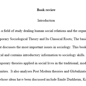 contemporary sociological theories and its classical roots
