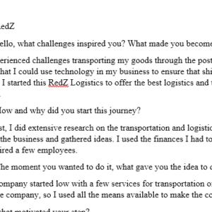 interview transcription
