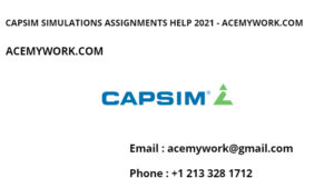 Capsim Simulation Assignments help 2021